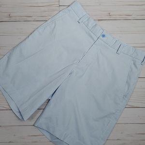 Nike blue and white stripped Golf ⛳ shorts EUC